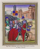 The Duke Of Brittany and The Earl of Buckingham concerting The Siege Of Nantes