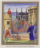 The Earl of Flanders directing the repairs of Oudenarde