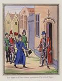 Lord Charles Of Blois obtains possession of the town of Jugon