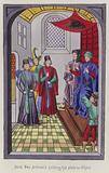 Jacob Von Artaveld holding his state in Ghent