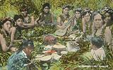 A native feast, Hawaii