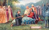 William II conferring primacy on Anselm