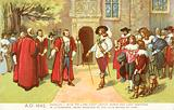 Charles I, with the Lord Chief Justice Banks and Lord Hertford in attendance, being received by the Lord Mayor of York, 1642