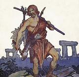 Prehistoric English man