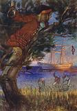 Illustration for Treasure Island