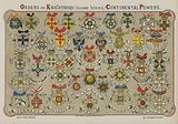 Orders of Knighthood, Continental Powers