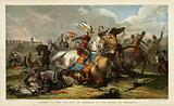 King Richard III and the Earl Of Richmond at the Battle Of Bosworth Field