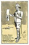 Cigarette card, Boer War cartoon