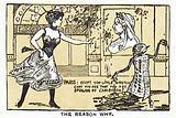 Cigarette card, Boer War cartoon