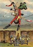 Illustration for Adventures of Baron Munchausen