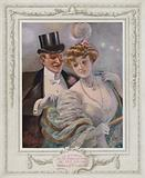 Belle Epoque Paris, Fashionable lady with her admirer