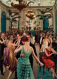 Hotel Cecil, London, Dance Supper in the Palm Court