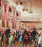 The Caledonian Ball, held annually at the Hotel Cecil, London