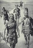 Briton, Roman, Saxon, Dane and Norman – passing down the road of English history