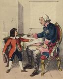 Frederick The Great and his nephew