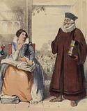 Rogert Ascham, tutor to Queen Elizabeth I