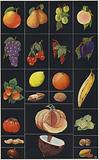 Page from children's picture book, Fruits