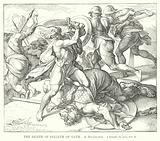 The Death of Goliath of Gath, 1 Samuel, ch xvii, ver 51