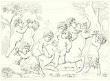 The Ivory Group, ascribed to Fiamingo, and representing infant bacchanals and satyrs playing with the ass which carried Silenus