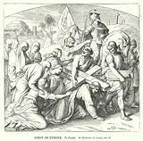 Simon of Cyrene, St Matthew, ch xxvii, ver 32