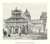 La Cathedrale de Pise et la Tour penchee