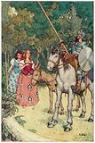 Illustration for The Adventures of Don Quixote
