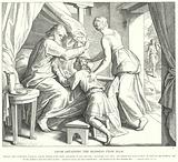 Jacob Obtaining the Blessing from Isaac