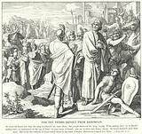 The Ten Tribes Revolt from Rehoboam