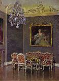 Rococo Room in the New Castle, Bayreuth, Built about 1764-66 by St Pierre