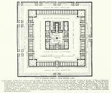 Plan of Solomon's Temple, after Bernard Lamy