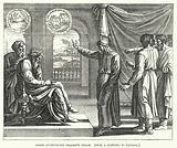 Joseph interpreting Pharaoh's Dream, from a painting by Raphael