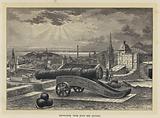Edinburgh, from Mons Meg Battery