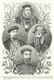 James Hamilton, Earl of Arran, John Erskine, Earl of Mar, Archibald, Earl of Angus, The Regent Moray