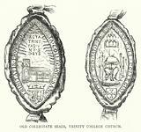 Old Collegiate Seals, Trinity College Church