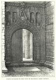 North Entrance to the Nave of Holyrood Abbey Church
