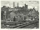 The Calton Hill, Calton Gaol, Burying-Ground, and Monuments