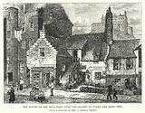 Old Houses in the West Port, near the Haunts of Burke and Hare, 1869