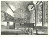 Interior of the Chapel of St Mary Magdalene