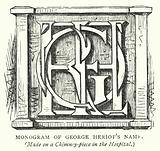 Monogram of George Heriot's Name