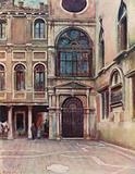 Cortile at Scuola Di S Giovanni Evangelista