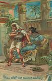 The Ten Commandments: Thou shalt not commit adultery