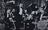 Lawrence Brown, Jimmie Prince, Louis Armstrong, Les Hite and Lionel Hampton