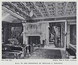 Hall in the Residence of William C Whitney