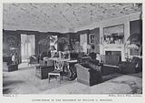 Living-Room in the Residence of William C Whitney