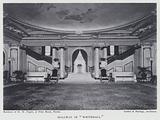 """Hallway in """"Whitehall"""""""