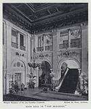 """Main Hall in """"The Breakers"""""""