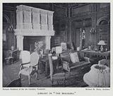 """Library in """"The Breakers"""""""