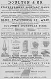 Advertisement, Doulton and Company