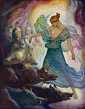 Odyssey: Circe and the swine