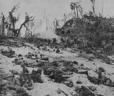 The Marines Inch Forward against Suicidal Resistance on Peleliu Island